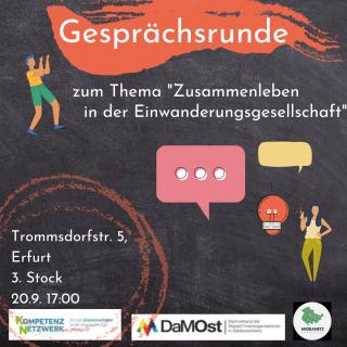 Gesprächsrunde 20.09.2021/ Kompetenznetzwerk