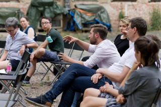 MigOst Kick Off Halle - Publikumsgespräch